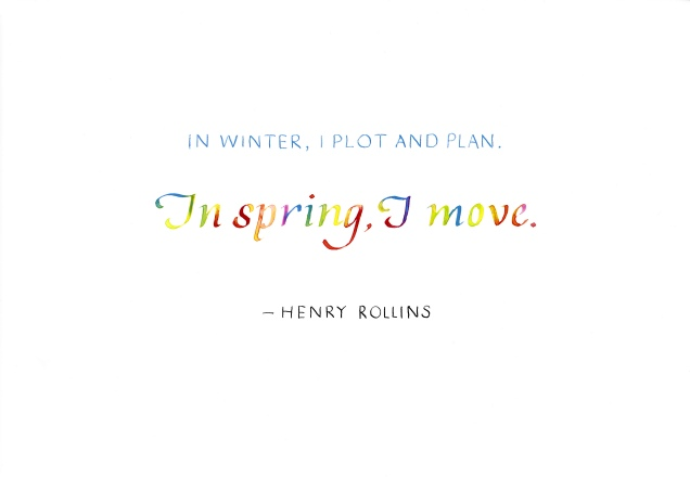 Quotation - Henry Rollins 01
