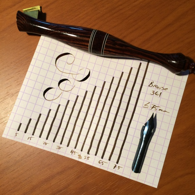 The Brause 361 nib