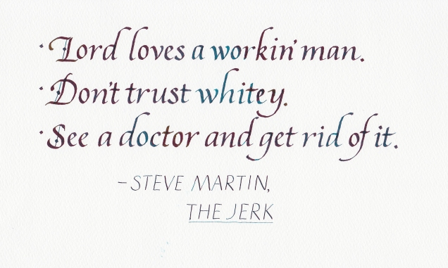 Quotation - The Jerk