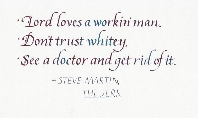 Quotation - The Jerk