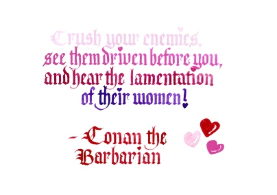 Valentine - Conan the Barbarian