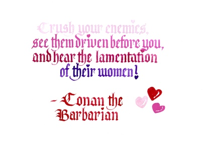 Valentine - Conan the Barbarian