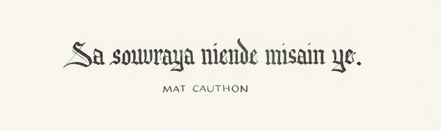 Mat Cauthon