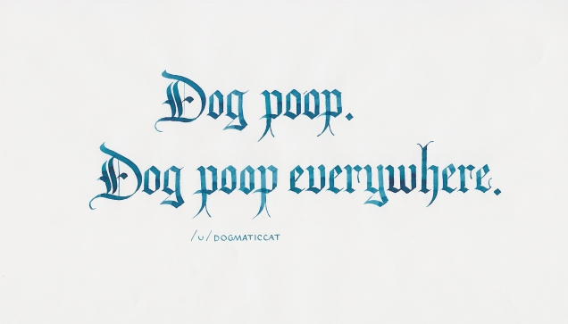 Reddit Comments - Dog Poop